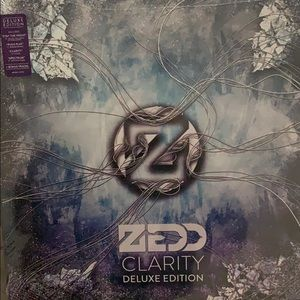 Zedd clarity vinyl record never opened
